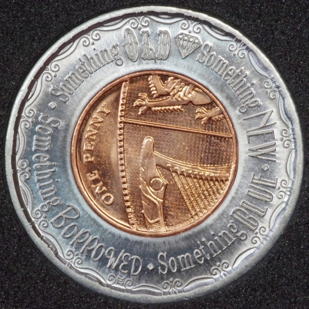2016 Encased Penny 1P Decimal Rev