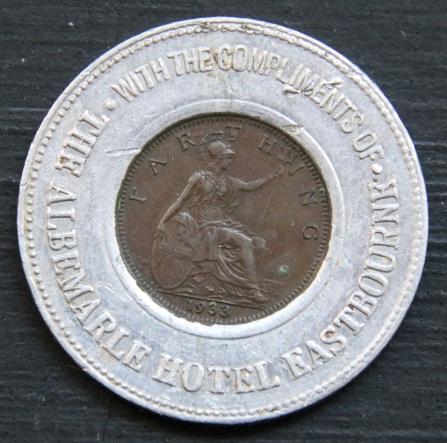 ALBEMARLE 1933 obv