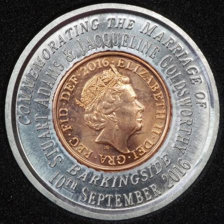 2016 Encased Penny 1P Decimal Obv