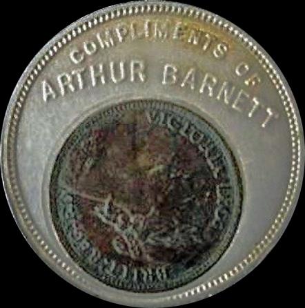 Arthur Barnett Obv BB