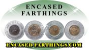 Encased Farthings