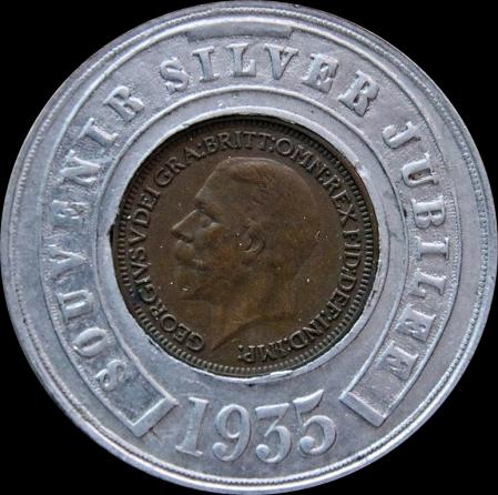 SILVER JUBILEE 1936 Obv BB