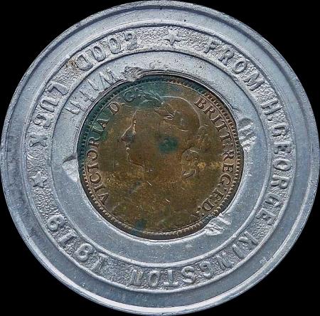 H GEORGE KINGSTON 1888 Obv BB