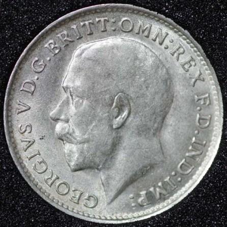 1919 George V Farthing Obv