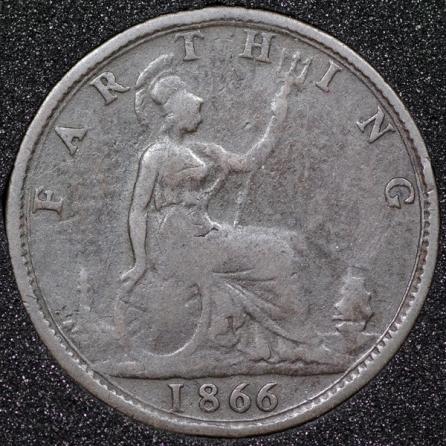 1866 Farthing Rev