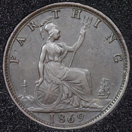 1869 Farthing Rev