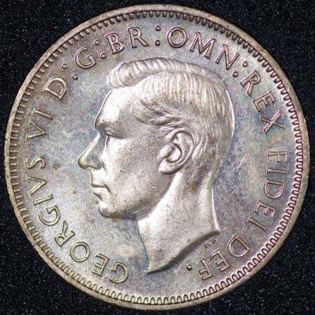 1951 Farthing George VI PROOF Obv Web