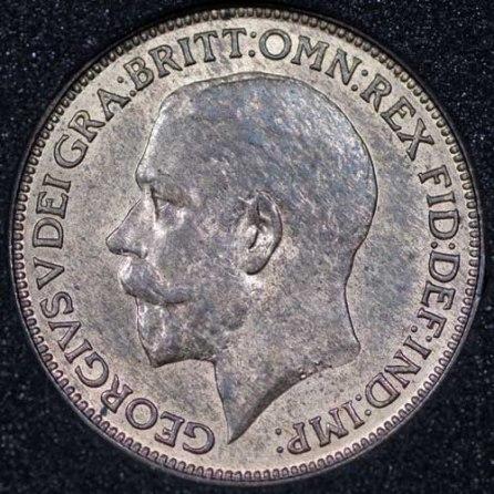 1925 George V Farthing Obv