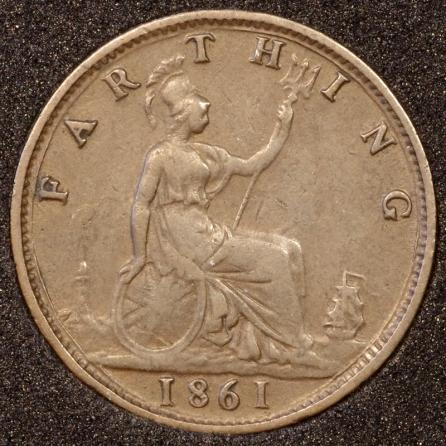 1861 Farthing Rev