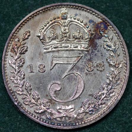 1888 Maundy 3d Rev 2nd Set