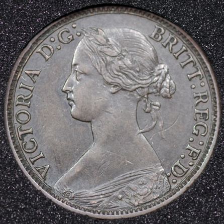 1869 Farthing Obv