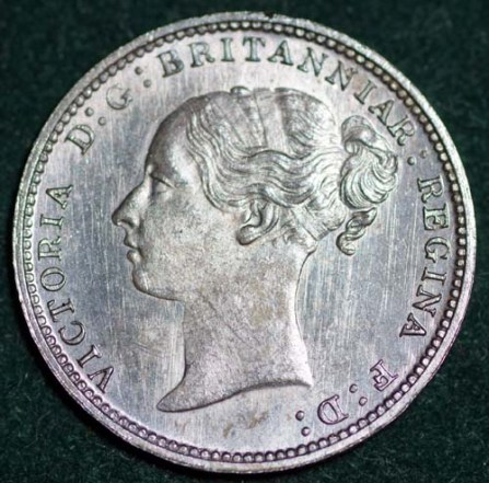 1887 Maundy 3d Obv
