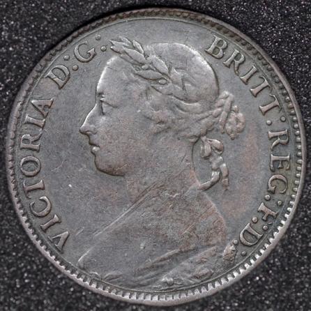 1882 Farthing Obv