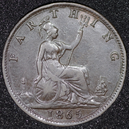 1865 Farthing Rev