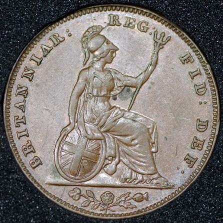 1853 Victoria Farthing Rev
