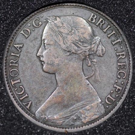 1867 Farthing Obv