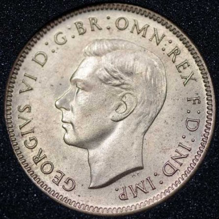 1946 George VI Farthing Obv