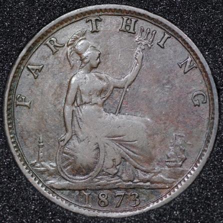 1873 Farthing Rev