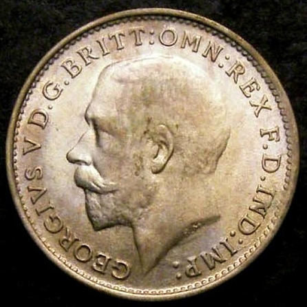 1921 Threepence CGS 78 Obv