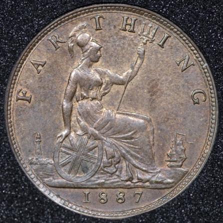 1887 Farthing Rev