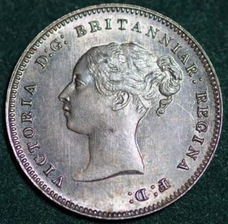 1887 Maundy 4d Obv