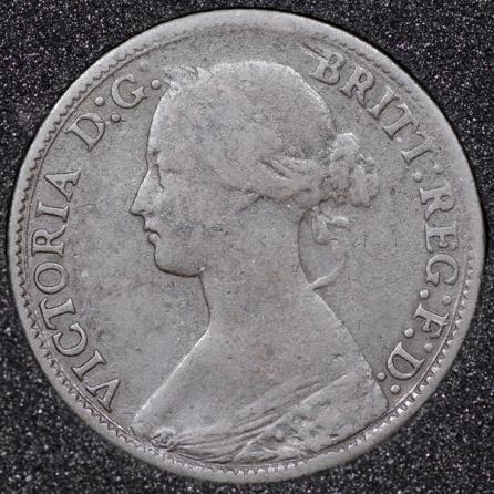 1866 Farthing Obv