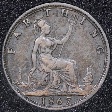 1867 Farthing Rev
