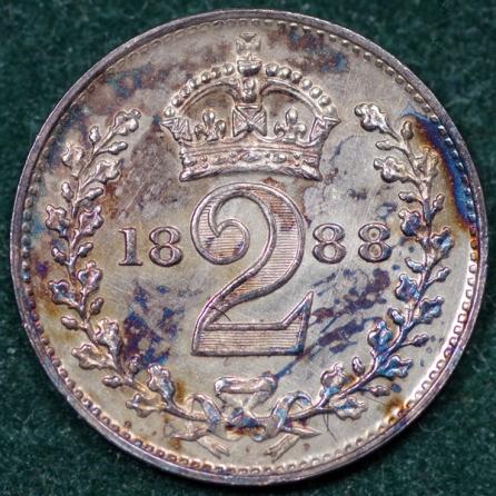 1888 Maundy 2d Rev 2nd Set