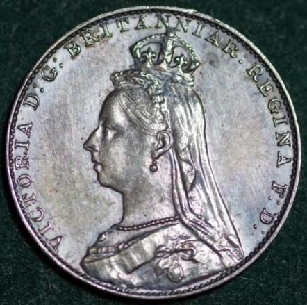 1888 Maundy 4d Obv