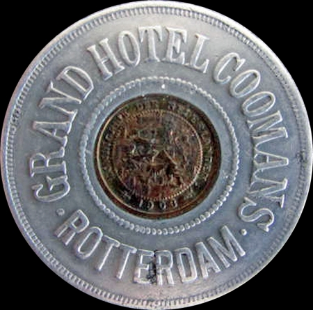 1903 Grand Hotel Coomans Obv